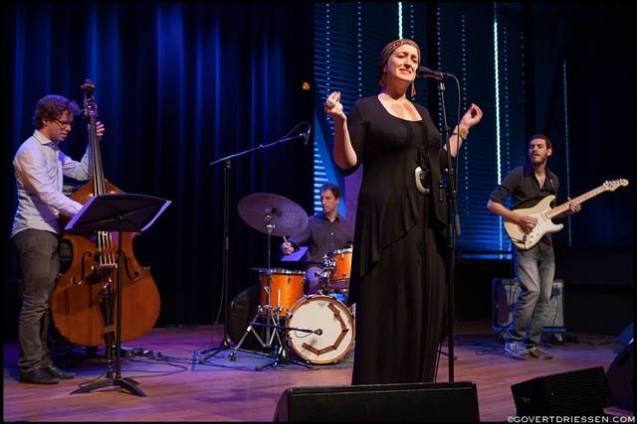 STN! sings with Ellen Tackenkamp - Bimhuis, Amsterdam (Netherlands) 22.06.13