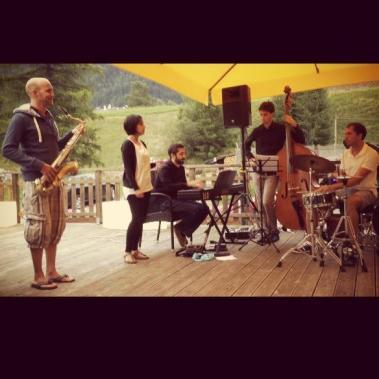 Bernard van Rossum Quartet - Pozza di Fasso, Cavalese (Italy) 24.08.13