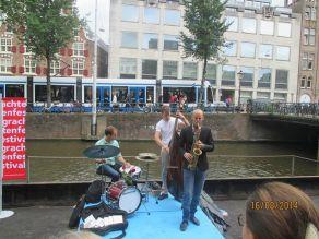 Maarten Hogenhuis Trio - Grachtenfestival, Amsterdam (Netherlands) 16.08.14