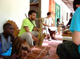 Jam session in Kansala Tatoto (August 2011, Senegal)