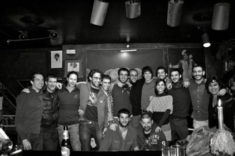 Friends reunion at the Keyboard Jazz Lounge, Reus (Catalonia) 07.01.12