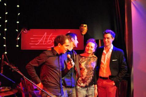 Agata Swieton Quartet - Absurd, Warsaw (Poland) 17.11.12