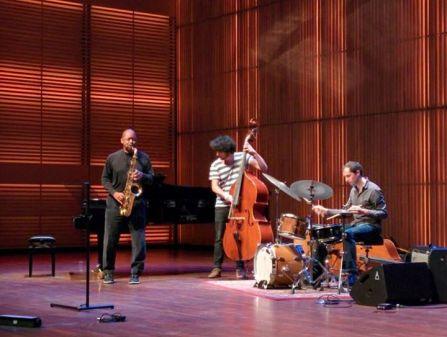 Branford Marsalis masterclass - Muziekgebouw, Amsterdam (Netherlands) 21.11.14