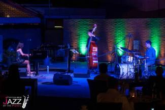 Liya Grigoryan Trio - Jazz By The Pool - Montegrotto Terme, Padova (Italy) 23.08.13